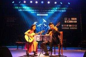Nghệ sĩ 5 quốc gia hội ngộ tại Liên hoan Guitar Quốc tế Alma Hà Nội