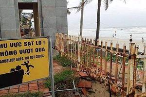 Đà Nẵng: Tìm giải pháp khắc phục bờ biển du lịch bị sạt lở nghiêm trọng
