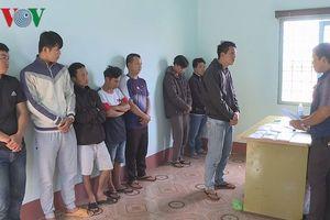 Đắk Lắk: Tham gia cá độ với số tiền hơn 40 tỷ, 8 người bị tạm giữ