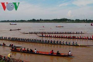 Lễ hội đua thuyền truyền thống 2018 tại Lào