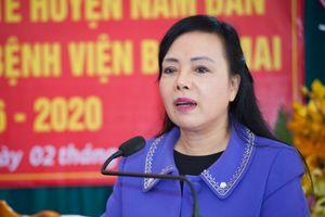 Kết quả phiếu tín nhiệm của Bộ trưởng Y tế Nguyễn Thị Kim Tiến thế nào?