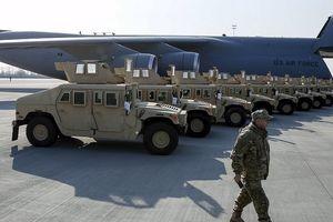 Xe Humvee triệu đô của quân đội Hoa Kỳ bị thả nhầm địa chỉ