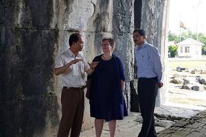 Hoa Kỳ tài trợ gần 100 nghìn USD để tu sửa cổng Nam thành nhà Hồ