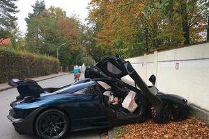 Mua được vài giờ, siêu xe 1 triệu USD của McLaren đã gặp nạn