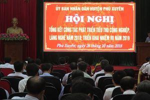 Phú Xuyên: 156 làng, cụm dân cư có nghề
