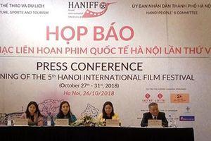 45 quốc gia tham gia Liên hoan phim quốc tế Hà Nội lần thứ V