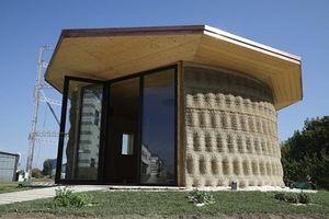 Nhà in 3D từ đất và vỏ trấu với chi phí 1.000 USD