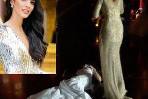 Lần đầu tiên trong lịch sử: Hoa hậu ngất lịm khi đăng quang