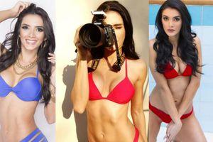 'Bỏng mắt' ngắm tân Hoa hậu Hòa bình Quốc tế 2018 mặc bikini bốc lửa