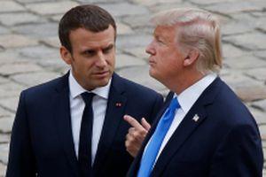 Tổng thống Mỹ và Pháp điện đàm trước Hội nghị thượng đỉnh về Syria