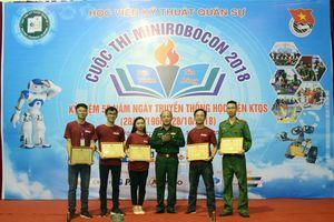Học viện Kỹ thuật quân sự tổ chức Chung kết cuộc thi MiniRobocon 2018