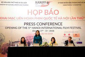 Liên hoan phim quốc tế Hà Nội vinh danh các tác phẩm điện ảnh xuất sắc