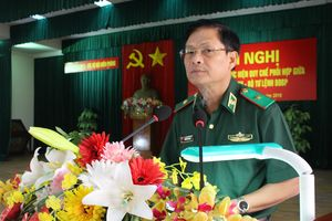 Sơ kết 3 năm thực hiện quy chế phối hợp giữa Bộ Tư lệnh Quân khu 5 và Bộ Tư lệnh BĐBP