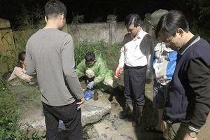 Bắt quả tang URENCO 6 xả thải nước rỉ rác ra hồ