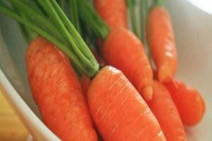 Ăn cà rốt có ảnh hưởng đến thai nhi không?