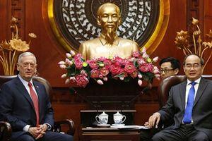 Nâng tầm hợp tác quốc phòng Việt - Mỹ