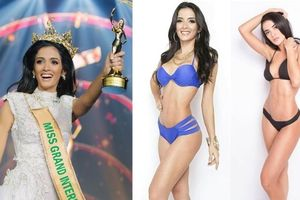Vẻ đẹp nóng bỏng của Clara Sosa - Miss Grand International 2018