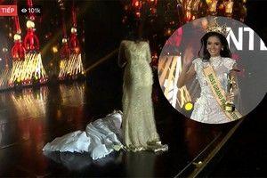 Tân Hoa hậu Hòa bình Clara Sosa biết mình sắp xỉu trước khi đăng quang
