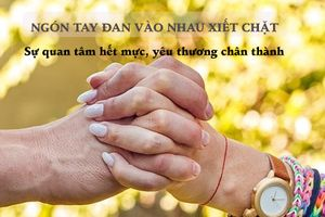 'Đo' mức độ tình cảm của người ấy dành cho bạn chỉ qua một cái nắm tay