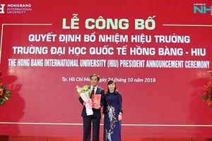 Tiến sỹ Hồ Thanh Phong giữ chức Hiệu trưởng Trường Đại học Hồng Bàng