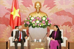 Phó Chủ tịch Quốc hội Tòng Thị Phóng tiếp Đoàn lãnh đạo các cơ quan của LHQ tại Việt Nam