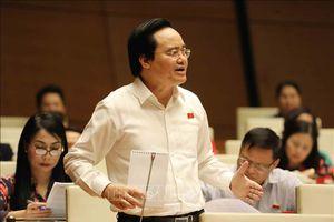 Bộ trưởng Phùng Xuân Nhạ giải trình về kỳ thi THPT quốc gia và sách giáo khoa