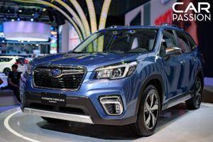 Ảnh chi tiết Subaru Forester thế hệ mới vừa ra mắt ở Việt Nam