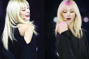 Tạm biệt màu đen truyền thống, Seulgi (Red Velvet) tóc vàng hoe làm fan điên đảo