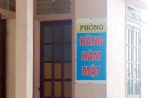 Nghệ An: Phòng khám không phép hoạt động trong trạm y tế xã
