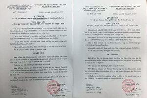 Hà Nội: Giám đốc và Phó Giám đốc Urenco 6 bị đình chỉ công tác vì xả nước thải ra hồ Xuân Khanh