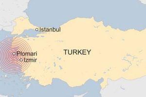 Động đất mạnh 6,8 độ richter tấn công Hy Lạp, chưa rõ thương vong