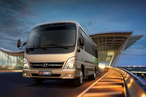 Xe thương mại 29 chỗ ngồi Hyundai County thế hệ mới có gì?