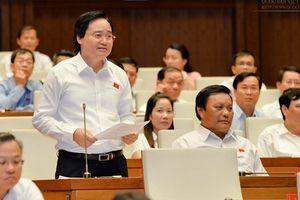 Bộ trưởng Nhạ giải trình về tiêu cực thi cử, độc quyền sách giáo khoa