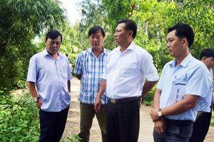 Phó Chủ tịch UBND tỉnh Trần Anh Thư kiểm tra tiến độ xây dựng nông thôn mới tại Tịnh Biên