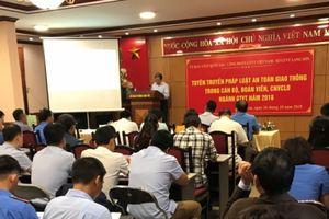 Hơn 100 đoàn viên Công đoàn GTVT Lạng Sơn tập huấn ATGT