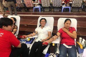 Thanh Hóa: Tiếp nhận 896 đơn vị máu tại huyện Thường Xuân
