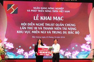 Agribank tặng 1 tỷ đồng cho Quỹ An sinh xã hội tỉnh Bắc Giang