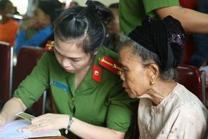 Công an tỉnh Nghệ An cải cách hành chính vì nhân dân phục vụ