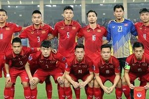 Đội tuyển Việt Nam đứng đầu Đông Nam Á