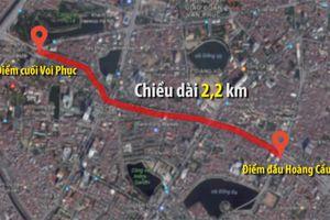 Hà Nội chính thức phê duyệt tuyến đường 'đắt nhất hành tinh'