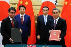 Trung Quốc- Nhật Bản ký kết hàng loạt thỏa thuận hợp tác