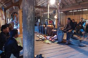 Phú Yên: Tổ chức Lễ đón Bằng công nhận di sản văn hóa phi vật thể quốc gia Lễ cúng trưởng thành của người Ê Đê