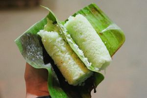 Bánh ống lá dứa - đặc sản trứ danh miền Tây giữa lòng Hà Nội