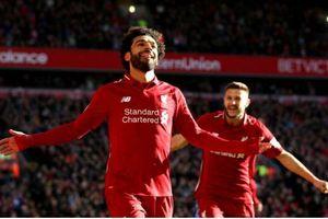 Liverpool vs Cardiff City (4-1): Salah ghi bàn, chủ nhà đại thắng