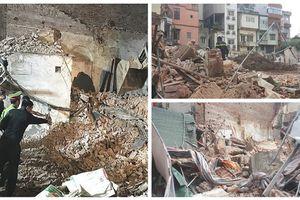 Thông tin chính thức vụ sập căn nhà 2 tầng cạnh hồ Hoàn Kiếm