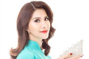 'Hoa hậu hàng không' Loan Vương dự thi Mrs International 2018