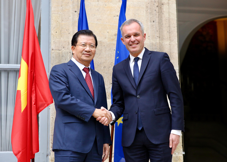 Hợp tác kinh tế - thương mại đầu tư là trụ cột trong quan hệ Việt - Pháp