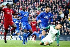 Thắng Cardiff 4-1, Liverpool đánh chiếm ngôi đầu