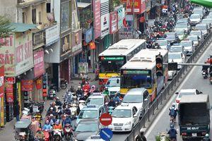 Cần giải pháp đặc thù khắc phục ùn tắc giao thông tại Hà Nội