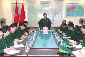 Bộ Tư lệnh BĐBP kiểm tra toàn diện công tác Biên phòng tại BĐBP Thanh Hóa